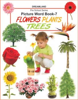 Picture Word Book 7 - Flower, Plants, Trees