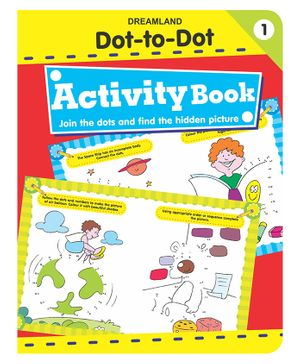 Dot To Dot Activity Book 1