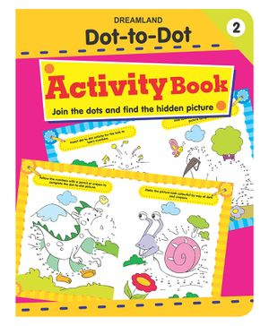 Dot To Dot Activity Book 2 - English
