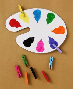 Boredom Busters Paint Palette - Multicolour