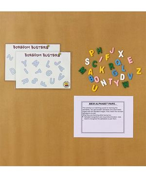 Boredom Busters Alphabet Pairs - Multicolour