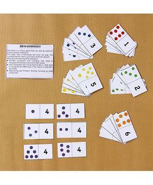Boredom Busters Dominoes - Multicolour
