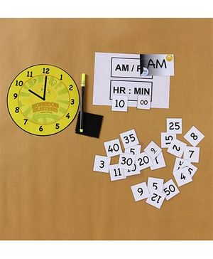 Boredom Busters Clock - Multicolour