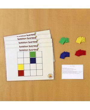 Boredom Busters Colourku Game - Multicolour