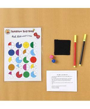 Boredom Busters Roll Slide & Cross Game - Multicolour
