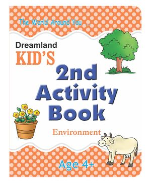 Kid's 2nd Activity Book - Environment