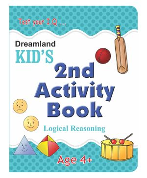 Kid's 2nd Activity Book - Logic Reasoning