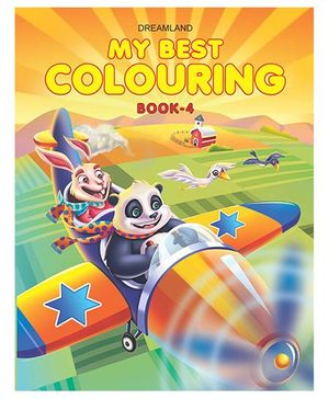 My Best Colouring Book 4