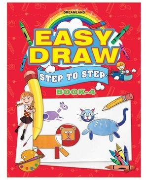 Easy Draw Step By Step Book 4
