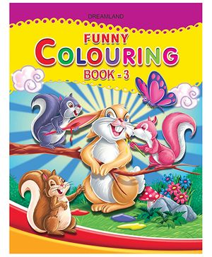 Funny Coloring Book - 3