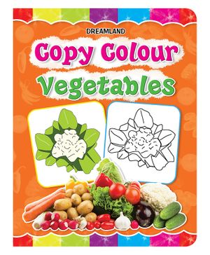 Copy Colour - Vegetables
