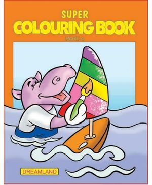 Dreamland Super Colouring Book Part 4 - English