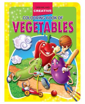 Creative Colouring Book - Vegetables