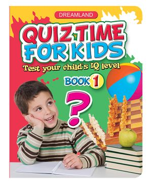 Quiz Time For Kids - Book 1