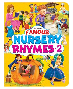 Famous Nursery Rhymes Part 2 - English