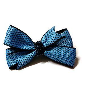 PEEK A BOO Funky Bows Hair Clip - Blue
