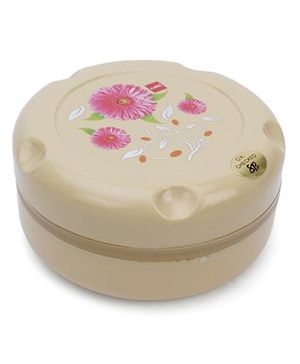 Cello Homeware Munch Insulated Hot Pot Small Flower Print - Beige