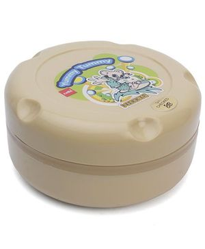 Cello Homeware Munch Insulated Hot Pot Small Yummy Tummy Print - Beige