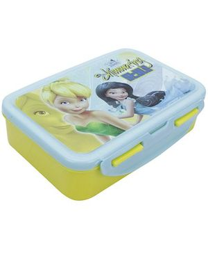 Cello Homeware Enigma Disney Fairies Print Lunch Box Medium - Yellow