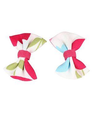 De Berry Bow Hair Clip - Pink