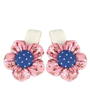 De Berry Flower Hair Clip - Multicolour