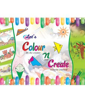 Let's Colour And Create A Book - English