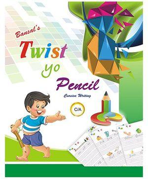 Twist Yo Pencil Cursive Writing Book - English