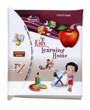 Kids Learning Home Book - English