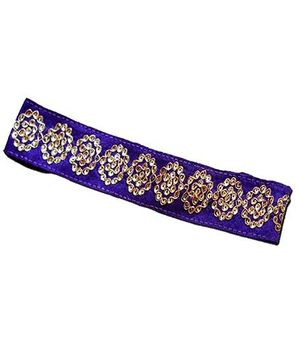 D'chica Blingy Chic Headband - Purple