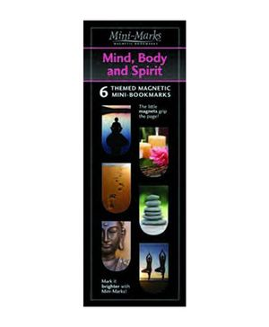 Mufubu Mini-Mark Mind Body and Spirit Multicolor - Pack Of 6