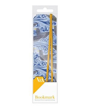 Mufubu V And A Bookmarks Seagulls - Blue and Yellow