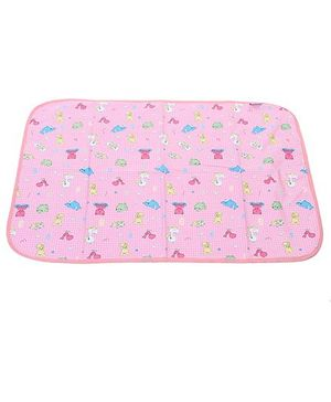1st Step Baby Mat Multiprint - Pink