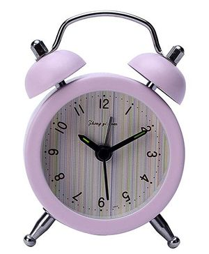 Gifts World Alarm Clock - Pink