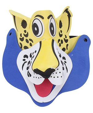 Gifts World Animal Cap - Blue Yellow
