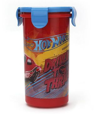 Hot Wheels Tumbler With Clip on Lid - 400 ml