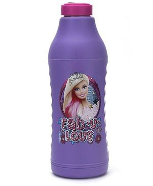 Barbie Thermo Sipper Water Bottle Purple - 550 ml