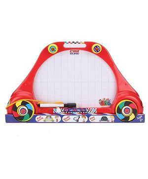 Avis 3-in-1 Board Car Shape - Red