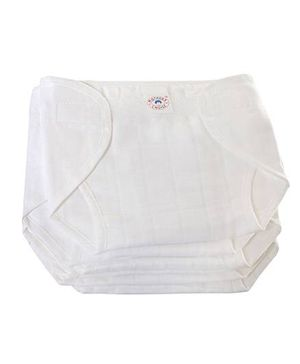 Mothers Choice Cloth Nappy Large - Set of 6