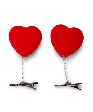 Sugarcart Alligator Set of Two Clips - Red