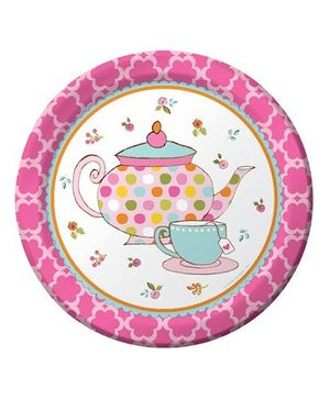 Wanna Party Wonderland Theme Party Dessert Plates - Pack of 8