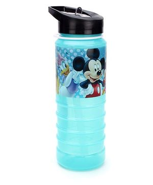 Disney Sipper Bottle Mickey Mouse Print  Blue - 700 ml