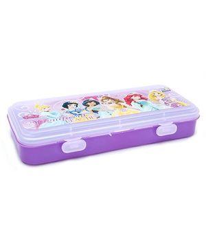Disney Princess Pencil Box Magnificent Beauties Print - Purple