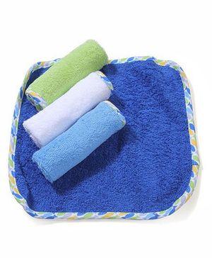 Dreamcatcher Baby Wash Cloths Set Of 4 - Muticolor