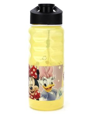 Disney Sipper Bottle Minnie and Daphne Print Yellow - 500 ml