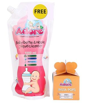 Adore Baby Bottle And Nipple Liquid Cleanser - 1000 ml