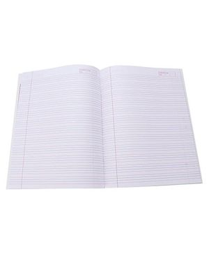 Camlin Four Lines Notebook Sparrow Print - 72 Pages