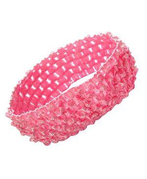 PinkXenia Crochet Knitted Soft Headband - Pink