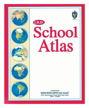 I.B.D School Atlas - English
