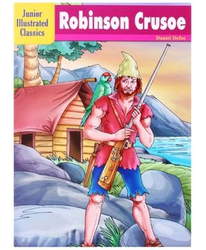 Junior Illustrated Classics Robinsin Crusoe