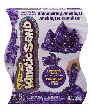 Wacky Tivities Kinetic Metallic Sand - Purple